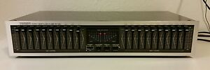 Vintage-Tamon-Japan-Stereo-Graphic-Equalizer-Home-Audio-Stackable-Unit-EB-101L