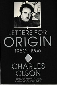 Letters-for-Origin-1950-1956-PB-1989-Charles-Olson-Poetry