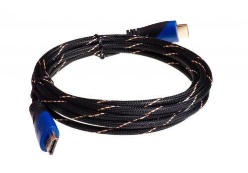 HDMI MESH Cable LOT 1.5ft 3ft 6ft 10ft 12ft 15ft 20ft 25ft 30ft 35ft 40ft 50ft