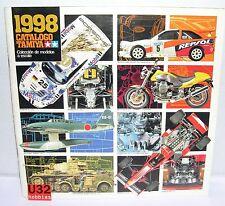 TAMIYA CATALOGO EDICION 1998 ENGLISH/SPANISH  NUEVO 87  PAGINAS