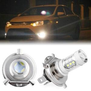 DRL-Auto-lampara-de-cabeza-LED-luz-de-niebla-H4-Bombillas-de-conduccion