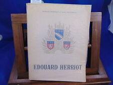 Sarrazin Edouard Herriot...