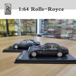 New 1:64 Scale Original Car Model for Rolls-Royce Ghost Extended Wheelbase