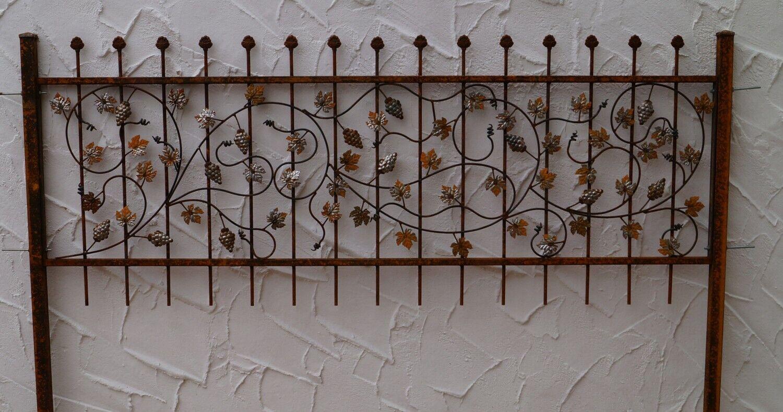 FERRO BATTUTO STECCATO metallo rami recinzioni bachus-z100 200 CRUDO elegante