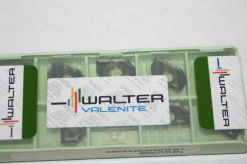 Grade WKP25 NEW TiN Lot of 10 WALTER VALENITE P2700-6065144 Carbide Inserts