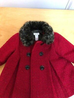 Baby & Toddler Clothing Girls' Clothing (newborn-5t) Monsoon Coat Girls 6-12 Months