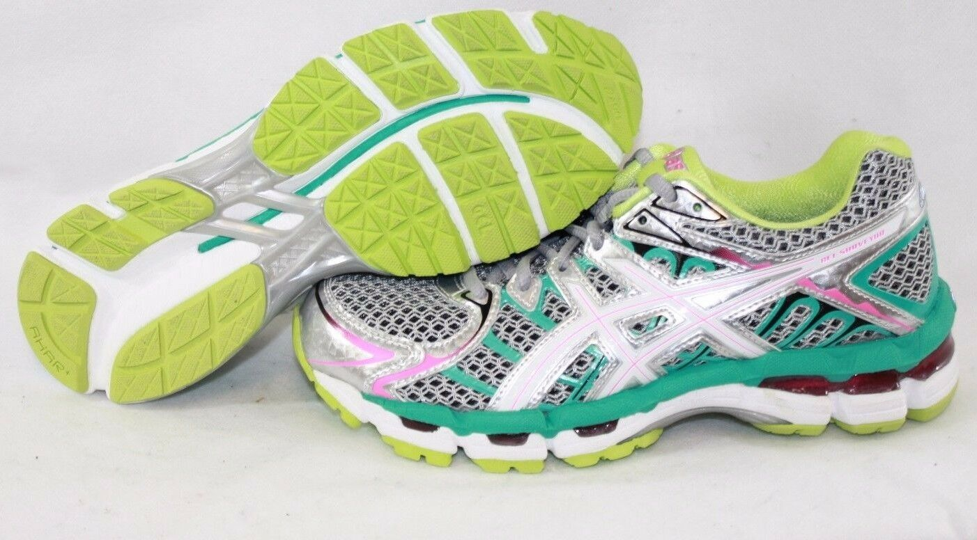 NEW Womens ASICS Gel Surveyor 2 T453N 9701 Titanium Green Sneakers Shoes Wild casual shoes