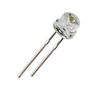 500pcs F5 5mm BLUE Straw Hat Superbright LED Light LED lamp
