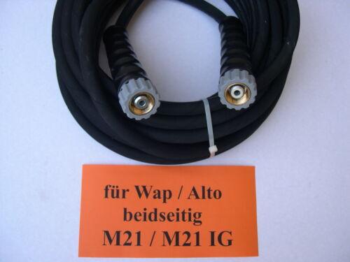 für Wap Alto mit M21 210 bar 150°C DN 08 20m Hochdruck Gummi Schlauch z.B