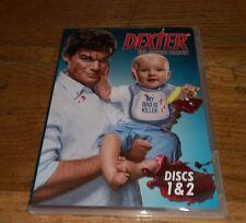 DEXTER Fourth Season Discs 1 & 2 only JOHN LITHGOW Serial Killer TV Series DVD