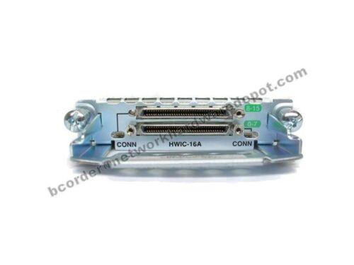Cisco HWIC-16A 16-Port Asynchronous High Speen WAN Module 1 Year Warranty