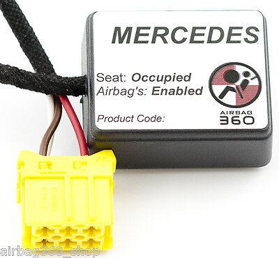 Mercedes Passenger Airbag  Occupancy Occupied  Seat Mat sensor EMULATOR bypass