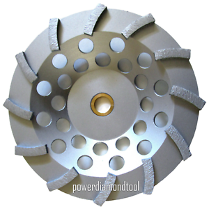 "7/"" Pro.Turbo Diamond Cup Wheel Concrete Stone Masonry Grinding 5//8-7//8-BEST"