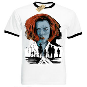 The-truth-will-save-you-T-Shirt-X-Files-scully-Mens-RInger