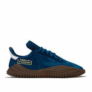 Hommes-Adidas-Originals-Kamanda-01-Baskets-En-Bleu