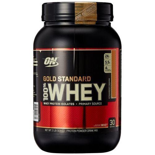 2 Dosen Gold Whey Standard 100% Optimum Nutrition (2 x 908g; 4,06EUR 100g)