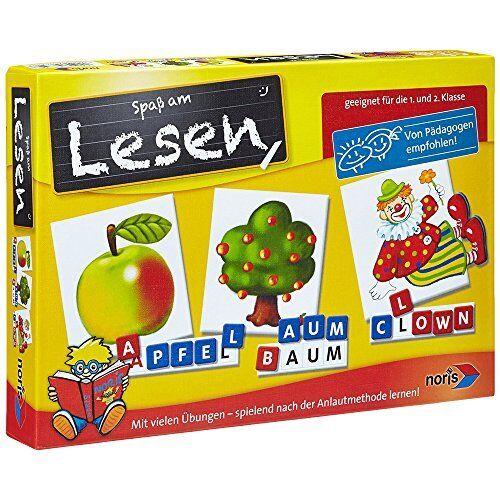 Noris Spiele Spaß am Lesen Kinder Lernspiele Party Spielzeug Spiel Familie NEU