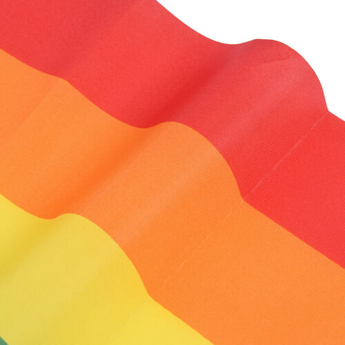 Rainbow Fahnen Polyester Flagge Gay Pride Lesbian Peace LGBT with Ösen Decor
