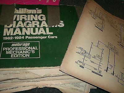1983 pontiac 6000 oversized wiring diagrams schematics sheets set | ebay  ebay