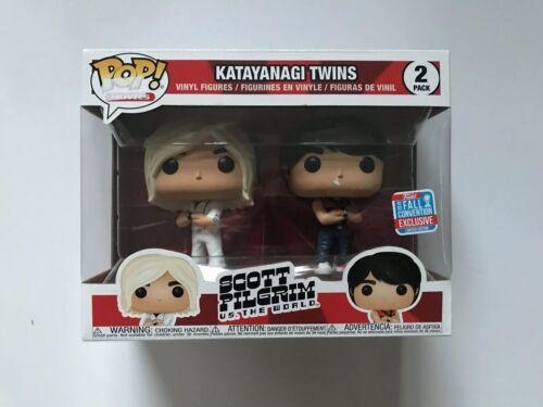 Katayanagi gemelos Scott Pilgrim Funko Pop convención de Nueva Exclusiva De Otoño