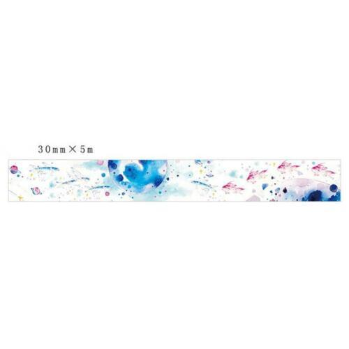 Album Diary DIY Decorative Stickers Paper Tape Stationery Student Q