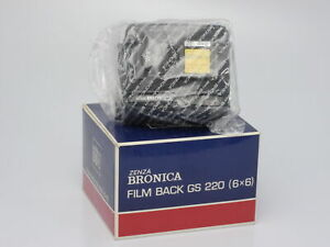 Zenza Bronica GS-1 220 Magazine Back 6x6 *NEW OLD STOCK*