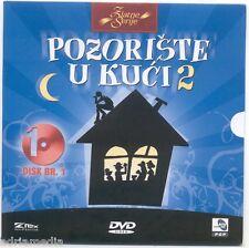 POZORISTE U KUCI 2 Box 3 DVD 19 Epizoda Tina Rodja Olga Serija Theater Beograd