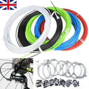 Orange Front /& Rear Inner Outer Wire Gear Brake Cable Set Mountain Bike Bicycle