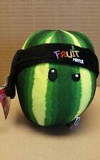 Fruit ninja plush watermelon.