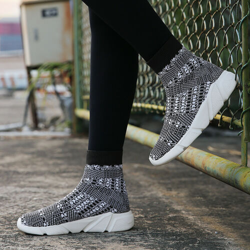 Men Sneakers Shoes Breathable Running Shoes Outdoor Sports Athletic Sock Shoes
