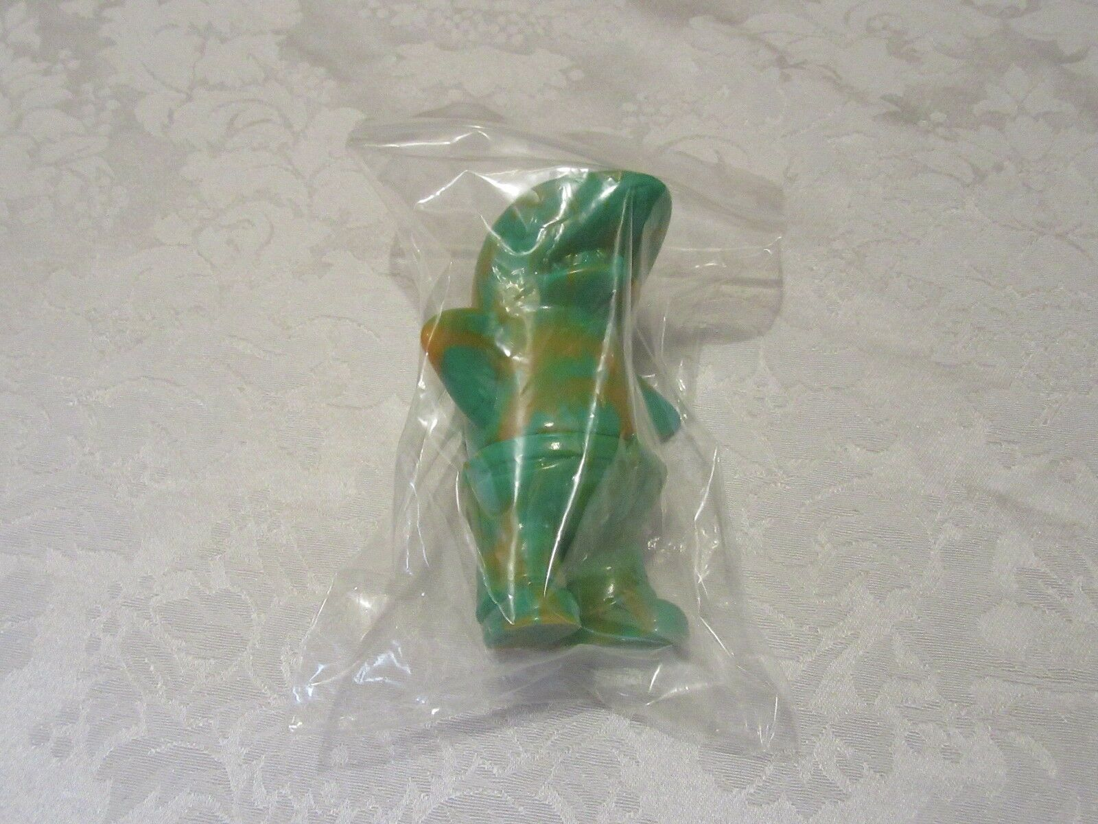 Koji Harmon CometDebris Sametan verde Marbled Swirl Dark arancia Sofubi  Vinyl  moda classica