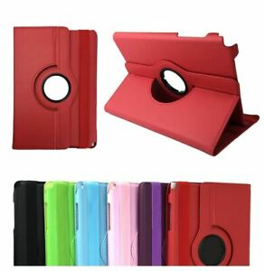 Rotation Leather Flip Stand Case Cover for Samsung Galaxy Tab S2 8.0 9.7 Tablet
