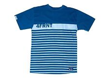 NEW 4Frnt Skis Sequence Mens XXL Blue Cotton Blend Tee Shirt Msrp$25