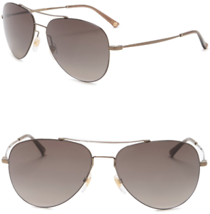 fa6a3c541a GUCCI Aviator Sunglasses GG 0500S Metal Gold Brown Olive Gradient GG ...