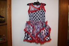 MONSTER HIGH SPECTRA VONDERGEIST DOT DEAD GORGEOUS DRESS UP PRETEND COSTUME NWT