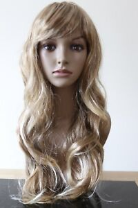 Image is loading Halloween-Womens-Blonde-Long-COSPLAY-WIG-Hair-Curly- fe41c17016