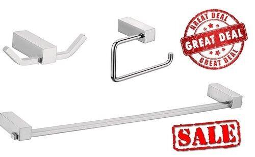 S   ACCIAIO ROBE Hook Hook Hook WC PORTArossoOLO ASCIUGAMANI BAR soap dish bathroom Accessorio Set 2690c4