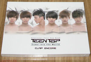 TEEN-TOP-Teentop-Come-Into-The-World-CLAP-ENCORE-1ST-SINGLE-K-POP-CD-SEALED