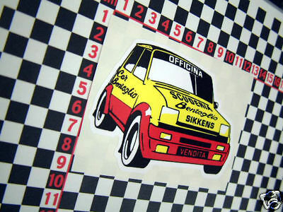 Nice Sticker for a Renault 5 GT Turbo