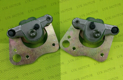 FRONT LEFT RIGHT BRAKE CALIPER FOR POLARIS SPORTSMAN 500 800 HO EFI WITH PADS