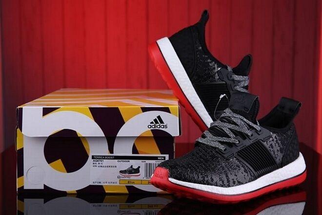 GR BNWT Men's Adidas Originals Pure Boost ZG Prime Knit Knit Prime UK Sizes Y-3 Black 17d368