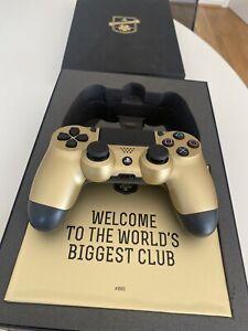 Edición Limitada Playstation F.C oro Dualshock Controlador Inalámbrico V1