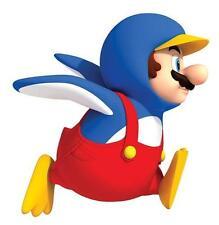 Super Mario Bros. Pingüino Mario gigante de la etiqueta de la pared