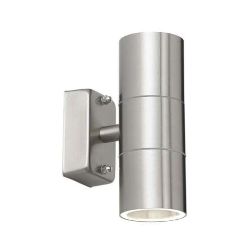 THLC Tall Acier Inoxydable Extérieur Double Spotlight-IP44 Rated