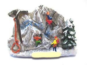 Bergsteiger-Magnet-Berg-Pickel-Seil-Poly-Climber-Germany-Souvenir