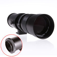 420-800mm f/8.3-16 Zoom Telephoto Lens Manual Focus For Sony Alpha AF Minolta MA