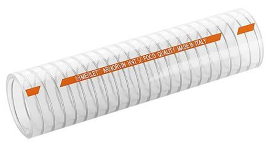 Manguera PVC plásticos merlett, 5m claro, diámetro externo de 47mm, 5m merlett, de largo, 90 Reforzado c389bf
