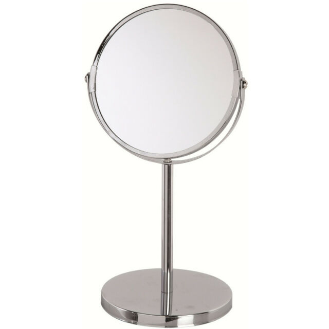 Feridras Beauty Makeup Cosmetic Mirror & Double-Sided Magnifying Stand Mirror 5X