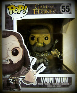 "Hell In Farbe Funko Pop Game Of Thrones Wun Wun Vinyl Figur 6""/15 Cm"