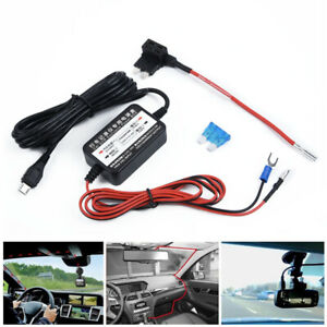 Car-Fuse-Dash-Cam-Camera-Micro-USB-Cable-Power-Box-Hard-Wire-DVR-GPS-Navigation